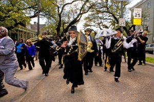 New Orleans Funeral Ceremony