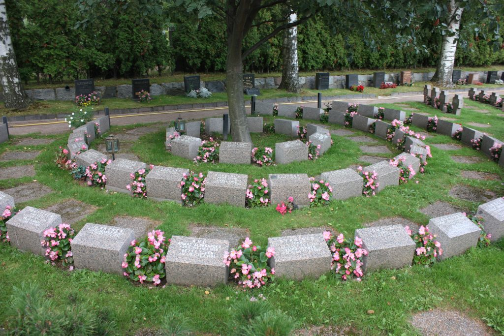 Cemetery for Cremains