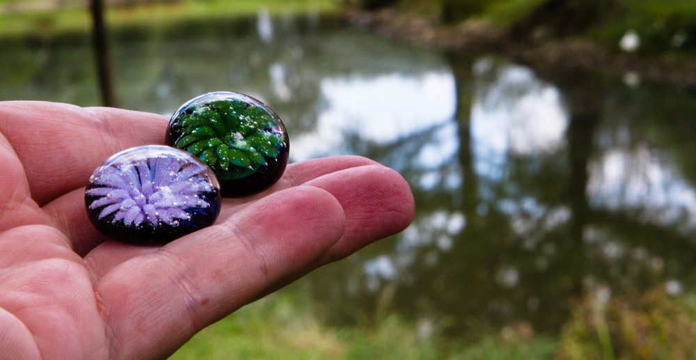 Tossing touchstone in a favorite place