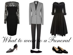 Proper funeral Attire for Women