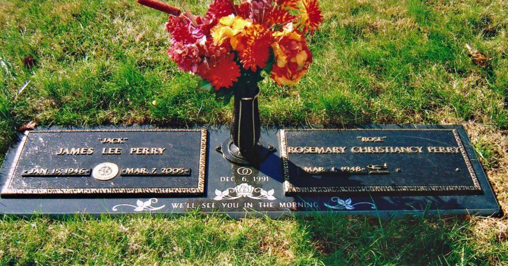 Spouse Buried Next to Veteran Husband