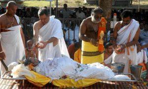 Preparing Body Ritual