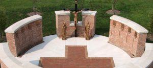 Free-standing Columbarium Wall