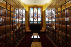 Indoor Columbarium Brooklyn Catholic Church