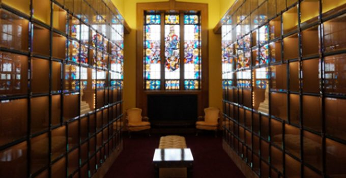 Indoor Columbarium Brooklyn Catholic Church