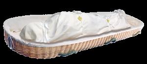 Body Wrapped in Shroud