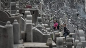 Overcrowded Cemetery