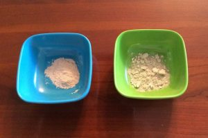 Resomation Ashes Left-Cremation Ashes Right