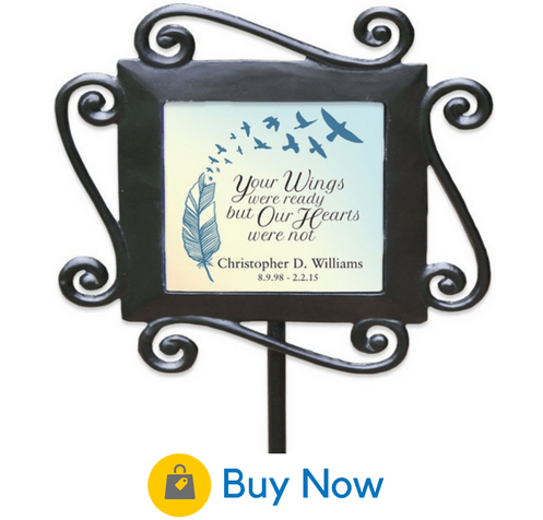 14 Personalized Memorial Garden Stones For Your Loved One