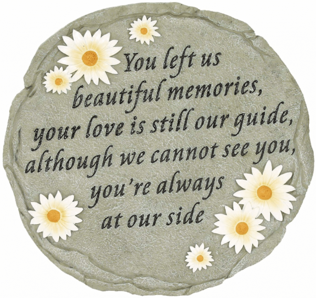 14 personalized memorial garden stones for your loved one - Personalized Garden Stones